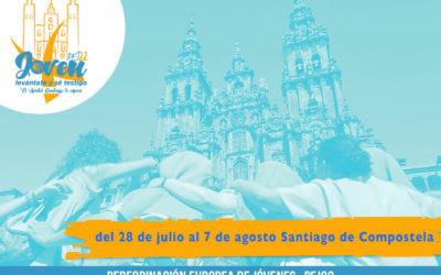 Únete a la Peregrinación Europea de Jóvenes 2022 a Santiago de Compostela